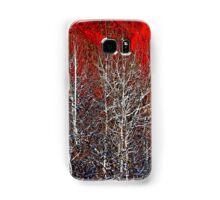 White Trees by Lena Owens/OLena Art Samsung Galaxy Case/Skin