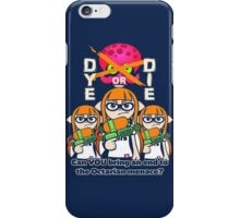 Splatoon - Dye or Die iPhone Case/Skin