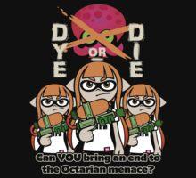 Splatoon - Dye or Die One Piece - Short Sleeve