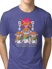 Splatoon - Dye or Die Tri-blend T-Shirt