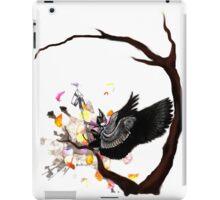 Sitting Raven iPad Case/Skin