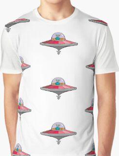 Alien Saucer Graphic T-Shirt