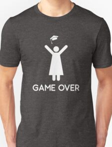 Graduation Game Over T-Shirt