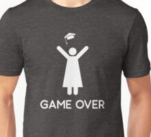 Graduation Game Over Unisex T-Shirt