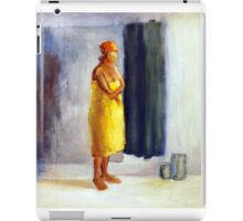 Yellow study, 2010, 100-80cm, oil on paper iPad Case/Skin