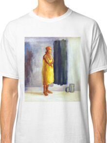 Yellow study, 2010, 100-80cm, oil on paper Classic T-Shirt