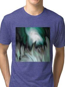 abstract green by rafi talby Tri-blend T-Shirt