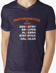Math is Magic Mens V-Neck T-Shirt