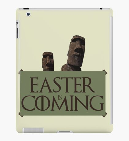 Easter is coming - GOT parody iPad Case/Skin