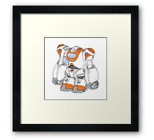 Anime Robot Framed Print