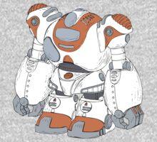 Anime Robot Kids Tee