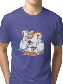 Anime Robot Tri-blend T-Shirt