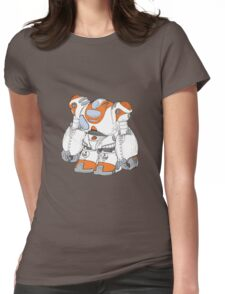 Anime Robot Womens Fitted T-Shirt