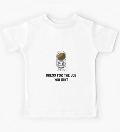 Astronaut Dress Kids Tee