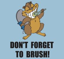 Beaver Brush One Piece - Short Sleeve
