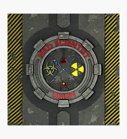 Mad Scientist Union Logo 3D Photographic Print