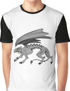 Demon Dog Graphic T-Shirt