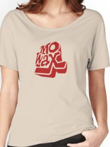 Record Label 3 (red) Women's Relaxed Fit T-Shirt