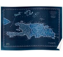 American Revolutionary War Era Maps 1750-1786 929 The island of Hispaniola called by the French St Domingo Subject to France & Spain Inverted Poster