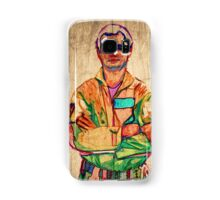 Peter Venkman (timber) Samsung Galaxy Case/Skin