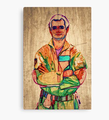 Peter Venkman (timber) Canvas Print