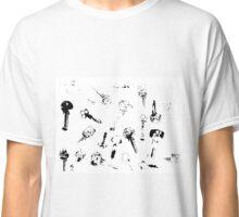 Printed Keys Classic T-Shirt