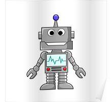Happy Robot Poster