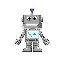 Happy Robot Photographic Print