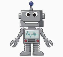 Happy Robot Kids Tee