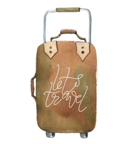 Cute suitcase Sticker