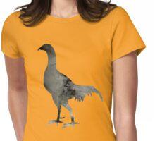 Bird silhouette Womens Fitted T-Shirt
