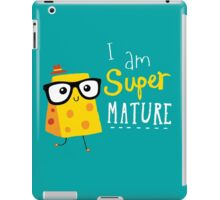 Super Mature iPad Case/Skin
