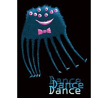 Techno Dance Disco Spider Photographic Print