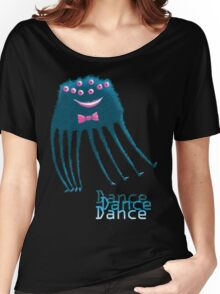 Techno Dance Disco Spider Women's Relaxed Fit T-Shirt