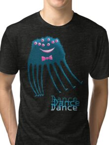 Techno Dance Disco Spider Tri-blend T-Shirt