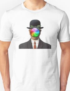 the son of a man magritte surrealism 1900, Apple T-Shirt