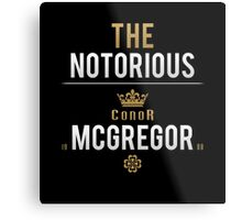 Notorious McGregor | v1 Metal Print