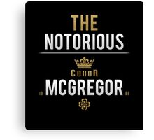 Notorious McGregor | v1 Canvas Print
