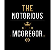 Notorious McGregor | v1 Photographic Print