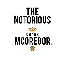 Notorious McGregor | v2 Photographic Print