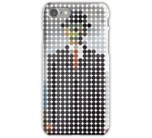 the son of a man magritte surrealism 1900, Benday Dots iPhone Case/Skin