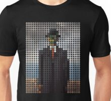 the son of a man magritte surrealism 1900, Benday Dots Unisex T-Shirt
