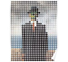 the son of a man magritte surrealism 1900, Benday Dots Poster