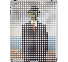 the son of a man magritte surrealism 1900, Benday Dots iPad Case/Skin
