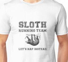 Sloth Running Team Unisex T-Shirt
