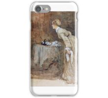 Henry Towneley Green - Interior, Woman Rising from Chair iPhone Case/Skin