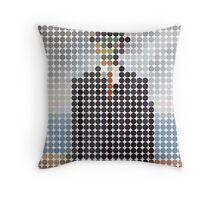 the son of a man magritte surrealism 1900, Benday Dots Throw Pillow