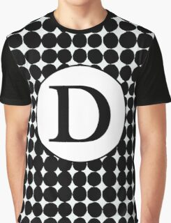D Bubbles Graphic T-Shirt