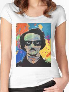 Edgar Allan Poe Women's Fitted Scoop T-Shirt