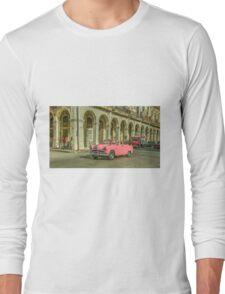Pink Crestliner  Long Sleeve T-Shirt